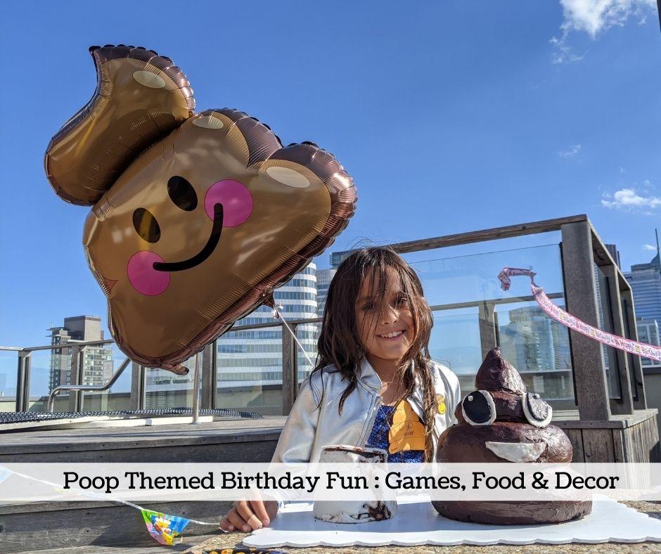 Poop Emoji Themed Party Ideas