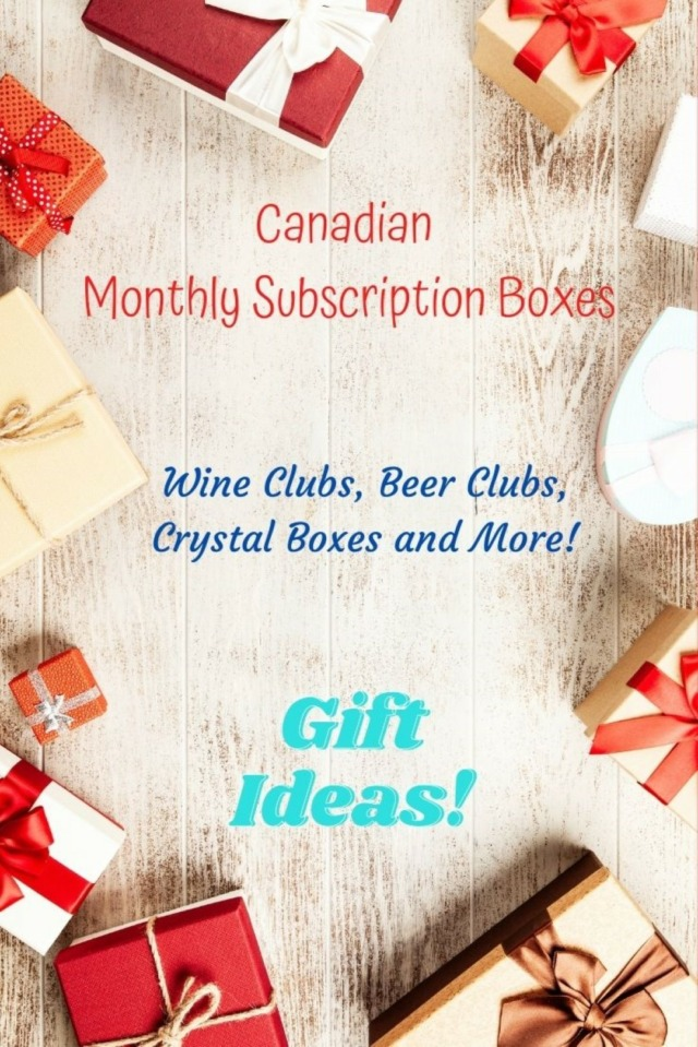 Canadian Monthly Subscription Boxes Gifts