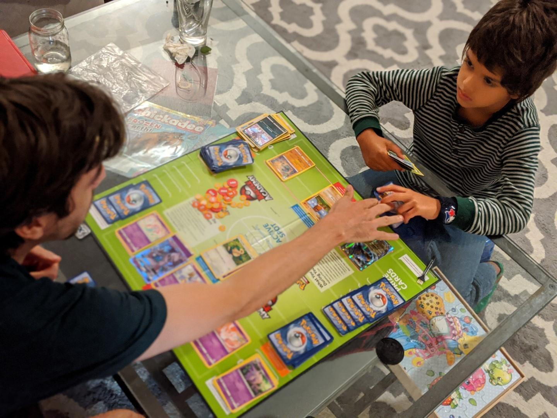 Pokemon board game for kids under 10