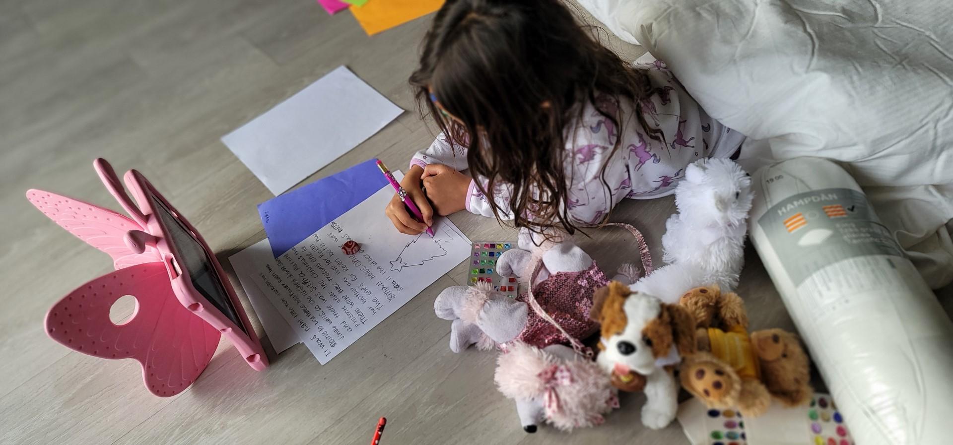 homework during isolation