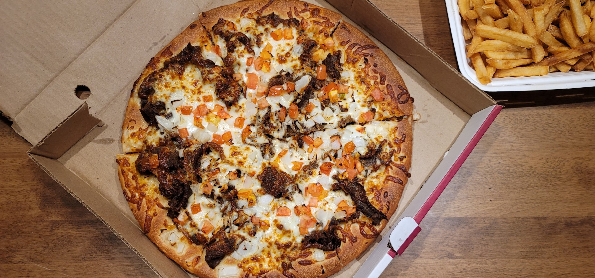 donairPizza from Alexandra's in Halifax delivery