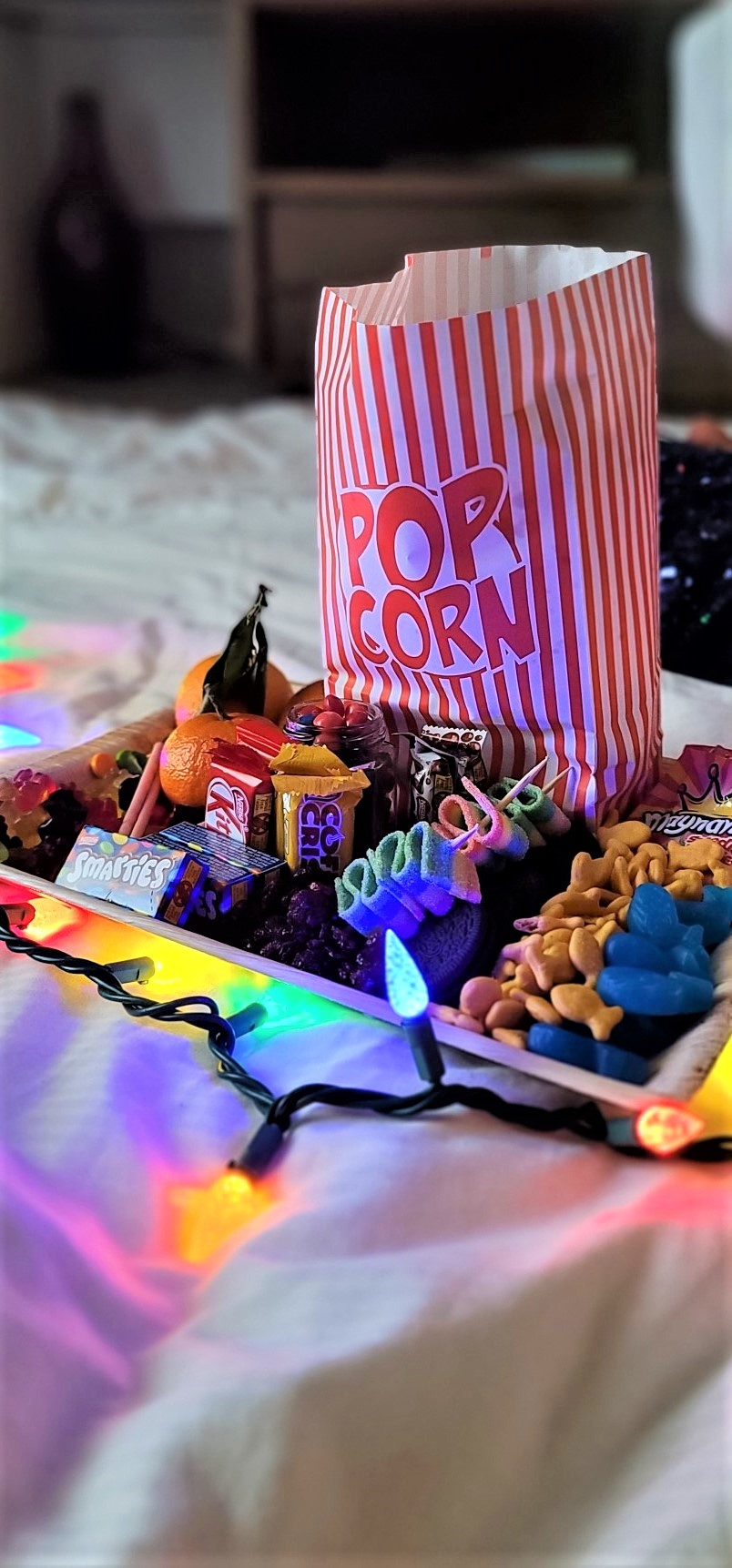 Cheycuterie movie candy tray