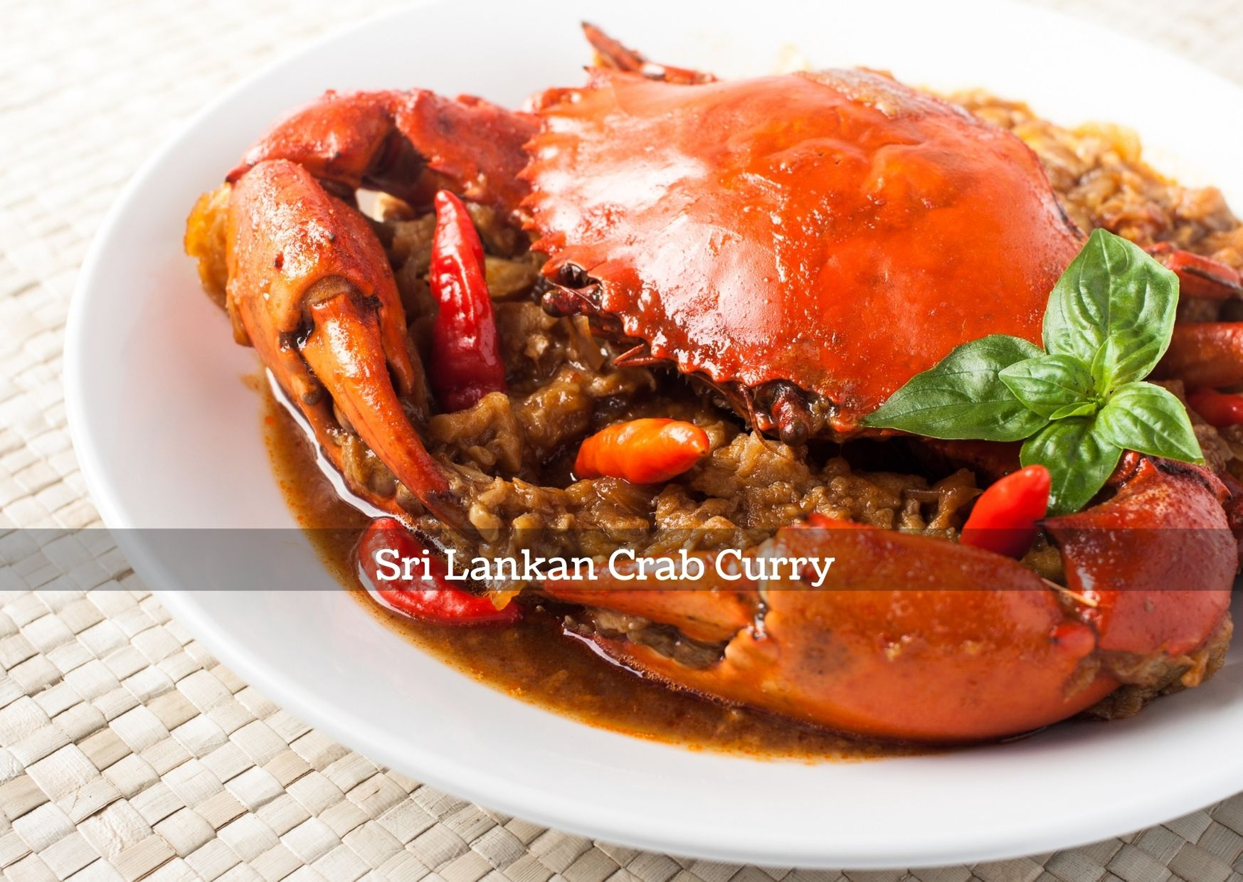 Sri Lankan Crab Curry from Cucini Express