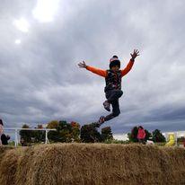 boy jumping at Souptogo