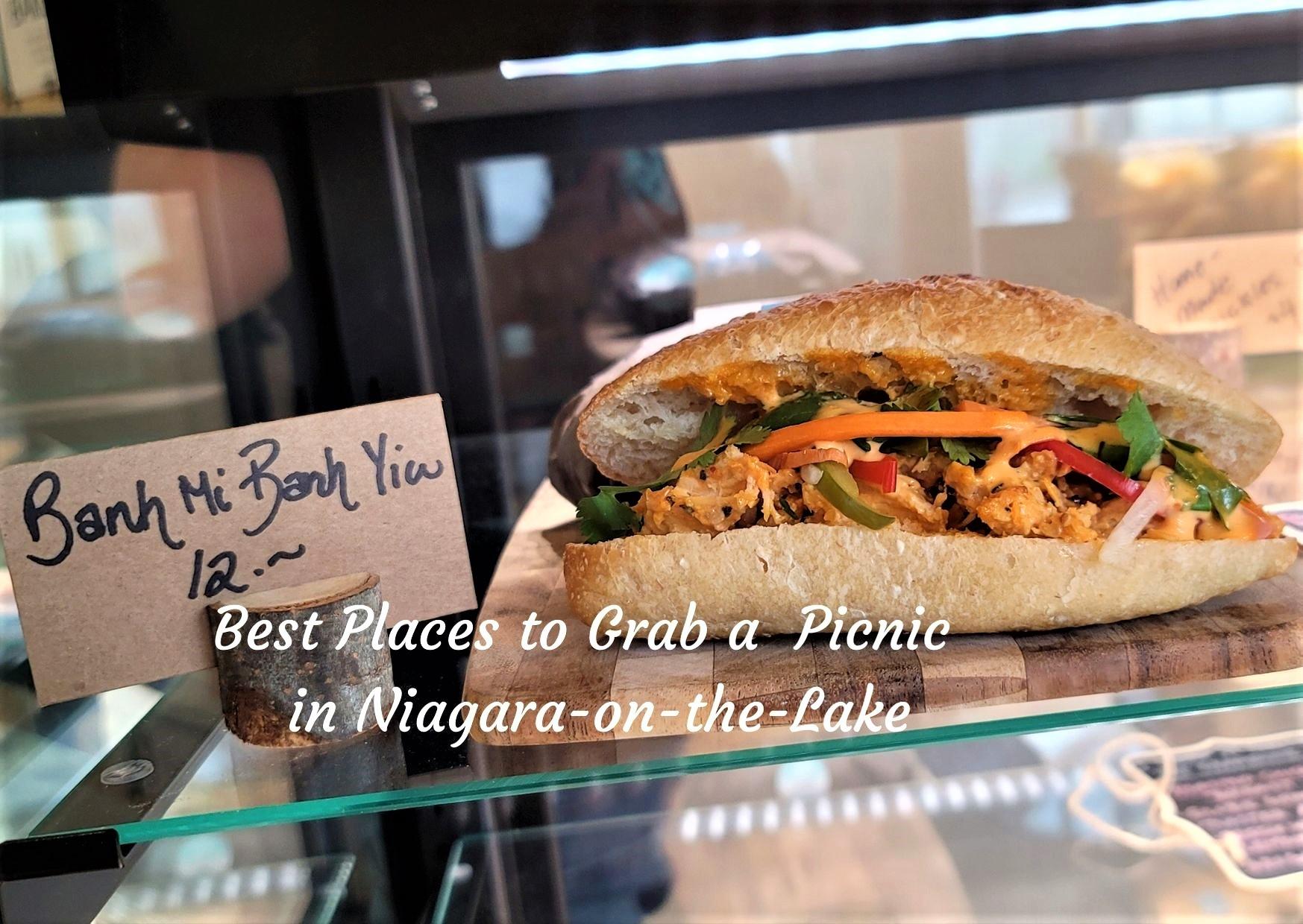 banh mi sandwich on counter