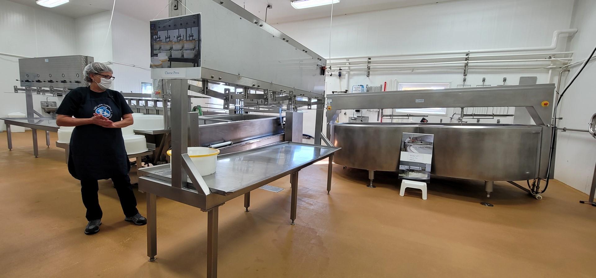 cheese making machines in Ontario