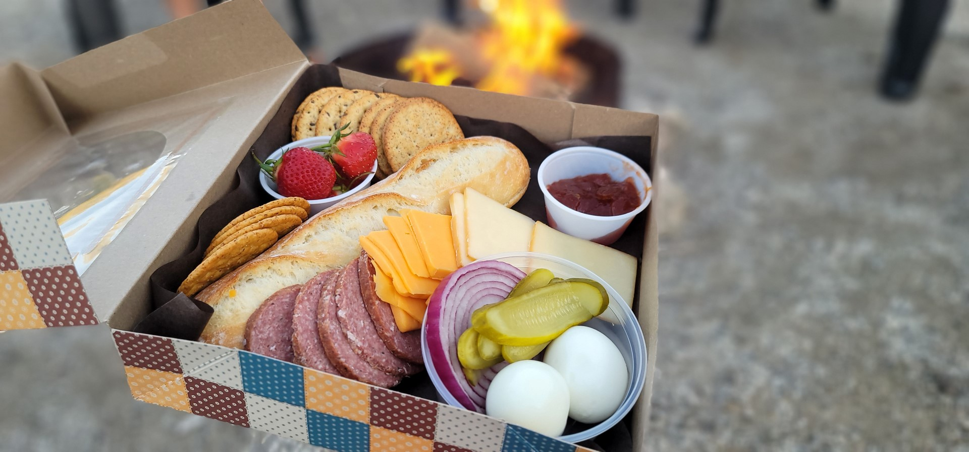Charcuterie box in Oxford County