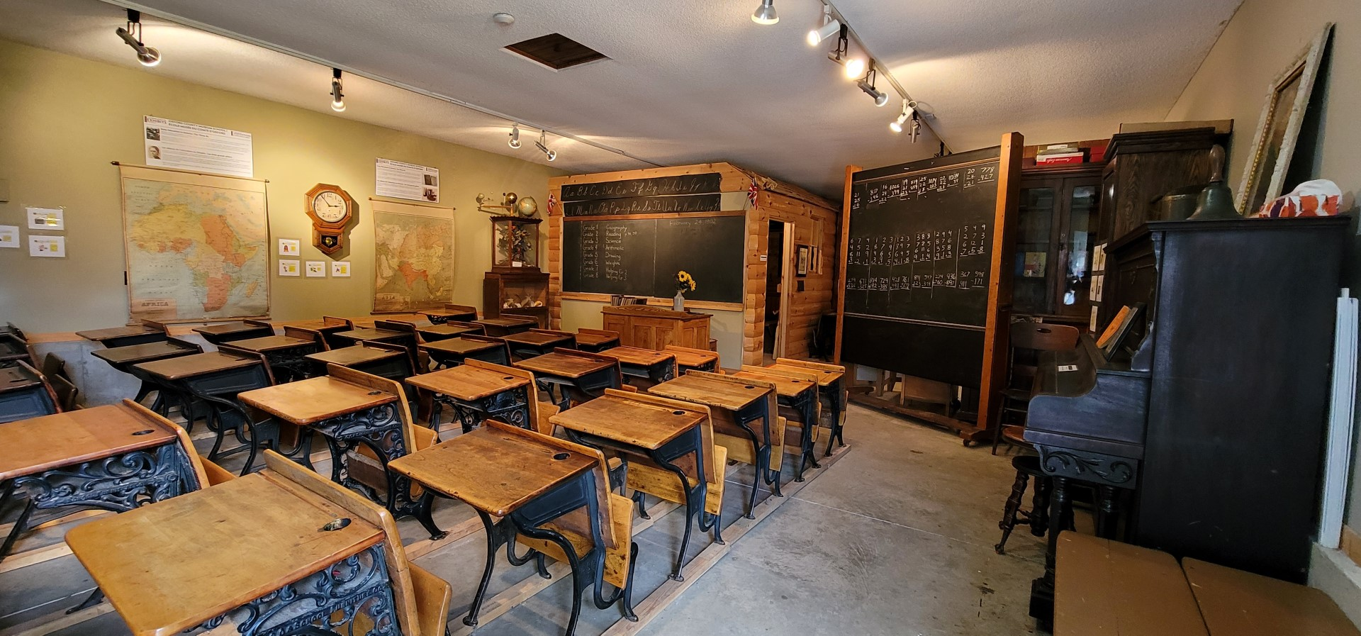 Classroom at Cheese Museum Canada