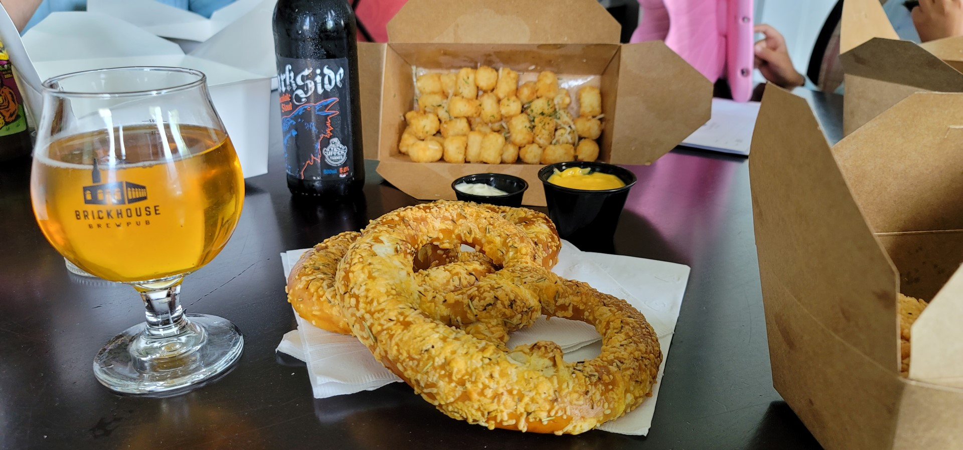 beer and pub food in Oxford County