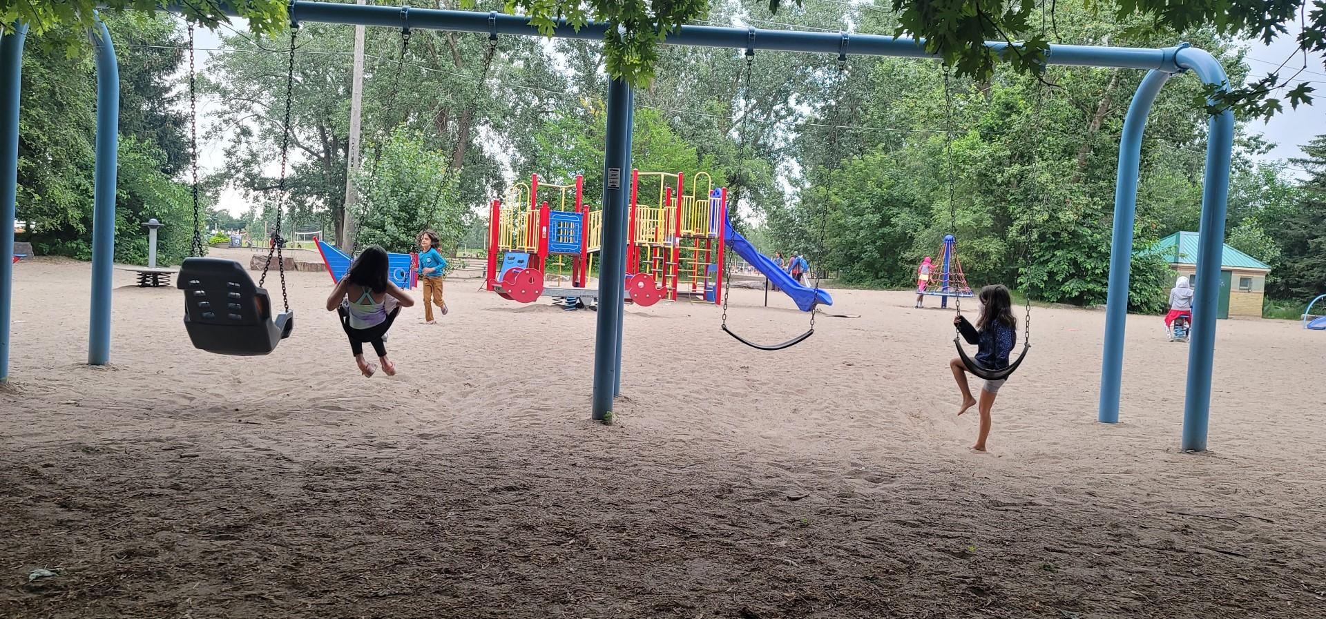 Ashbridge's BAy playground