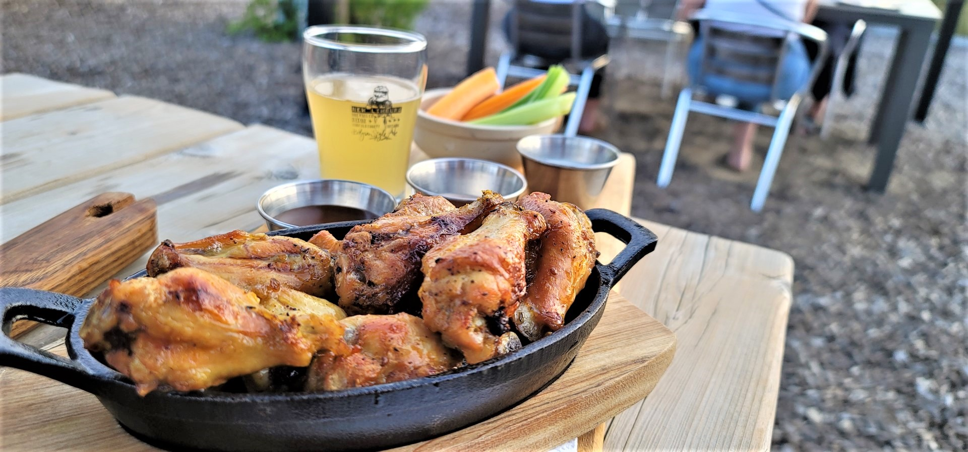 wings and and beer