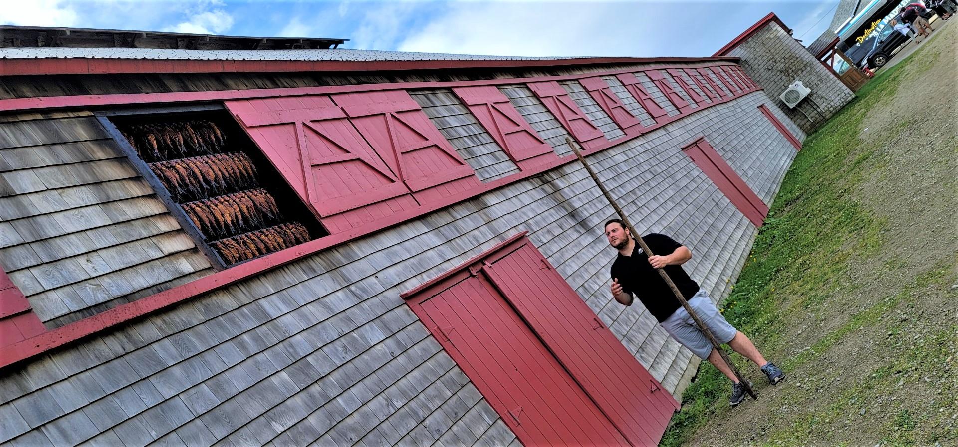 Magdalen Island smokehouse tour