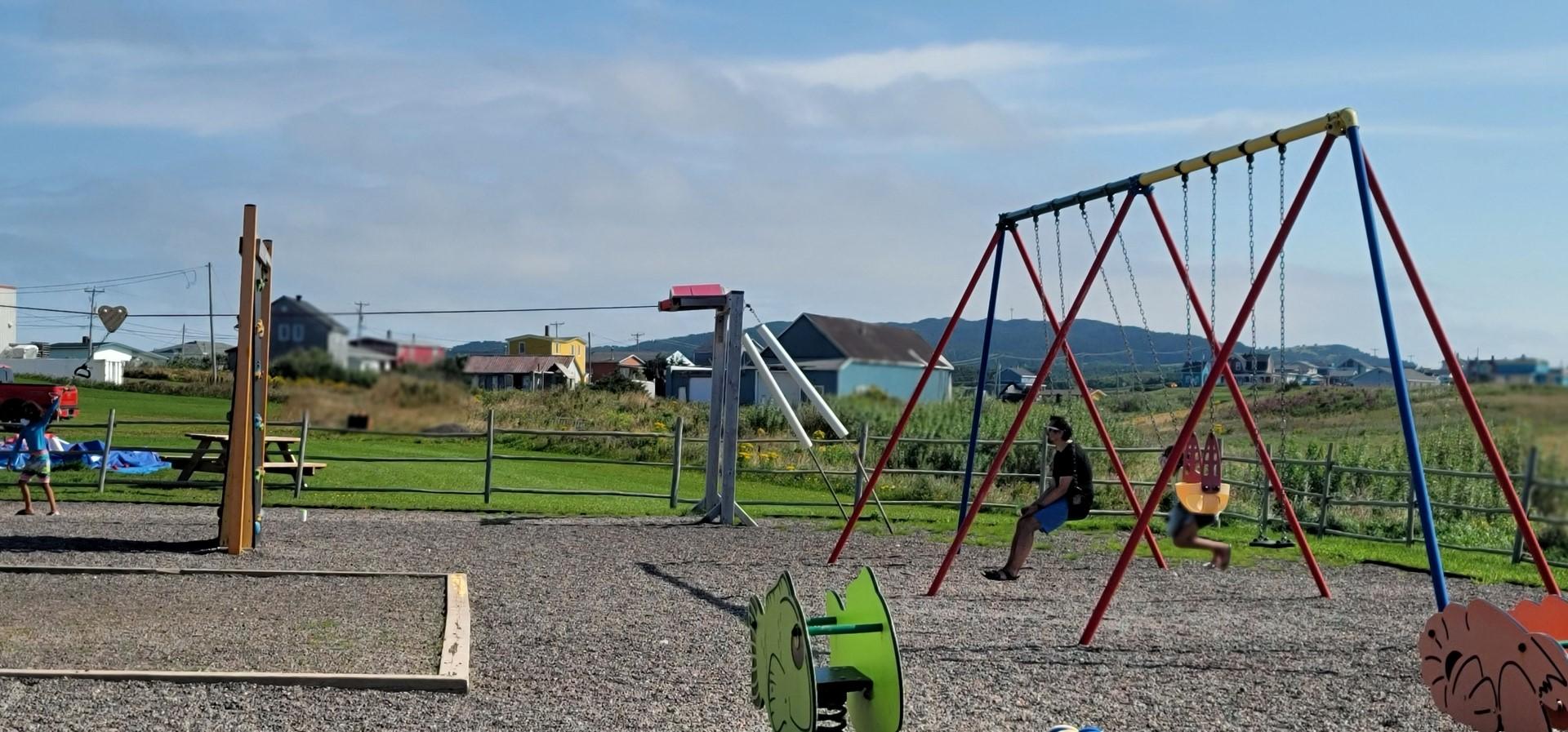 Playground at Site de la Cote