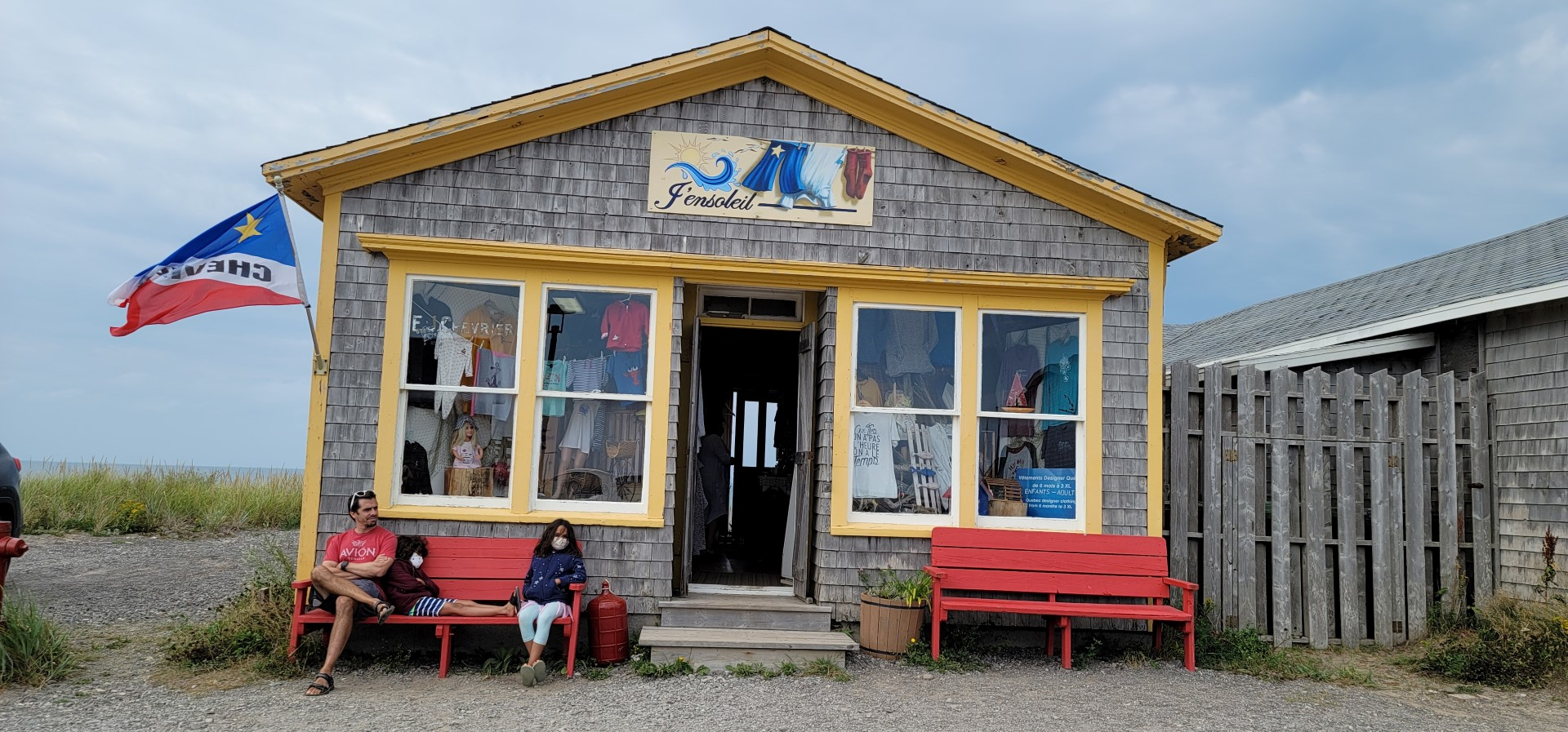 Shops on Magdalen Islands