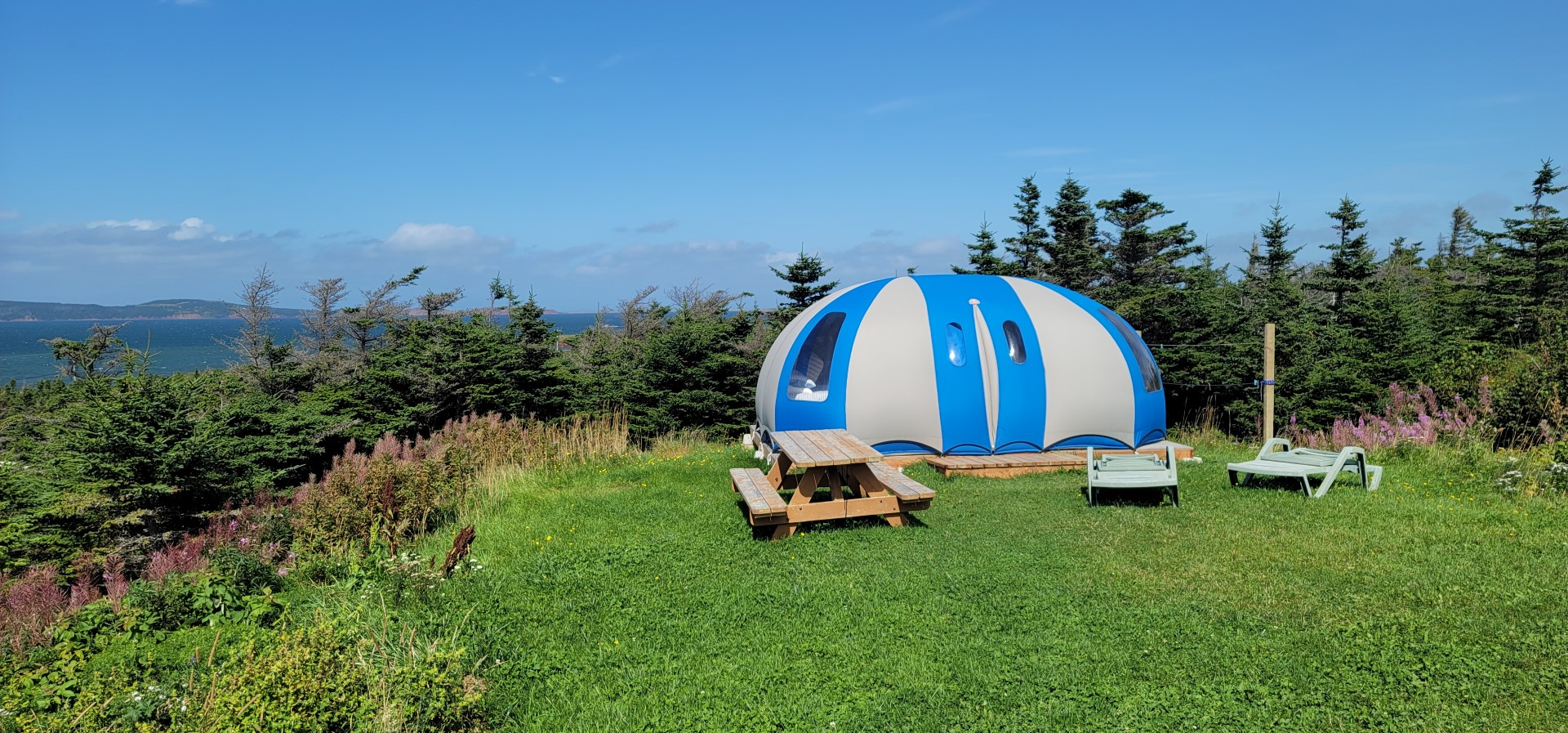 bubble dome accommodations