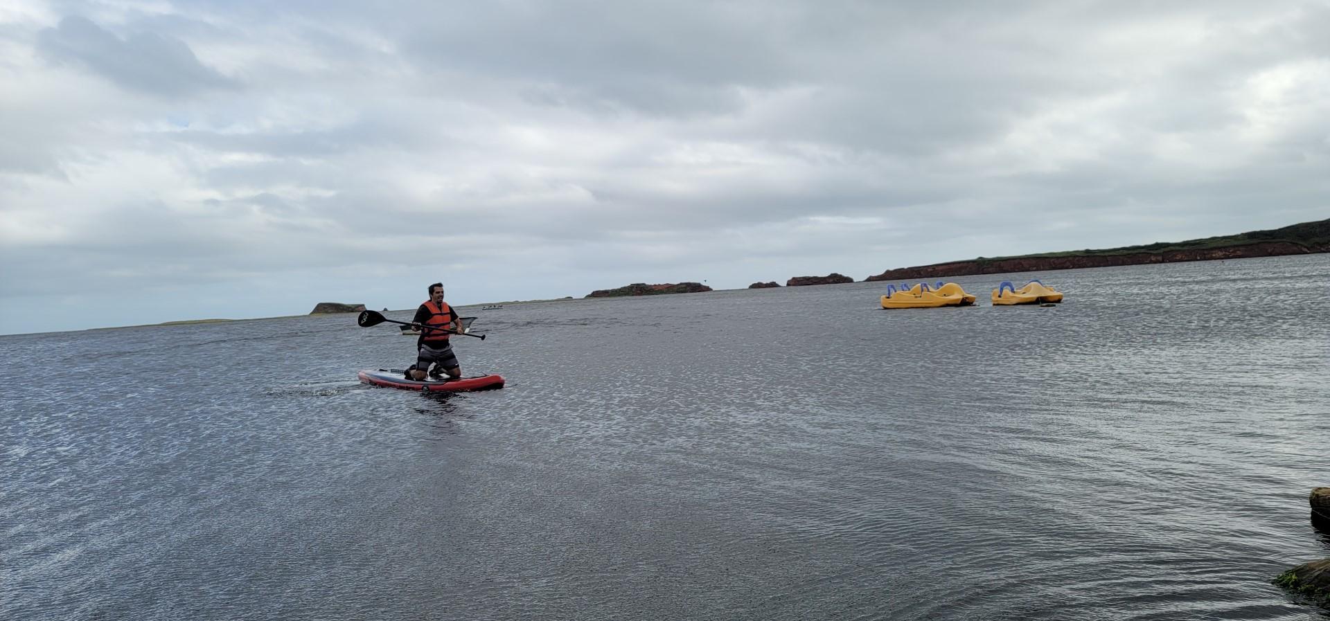 SUP on Magdalen Islands