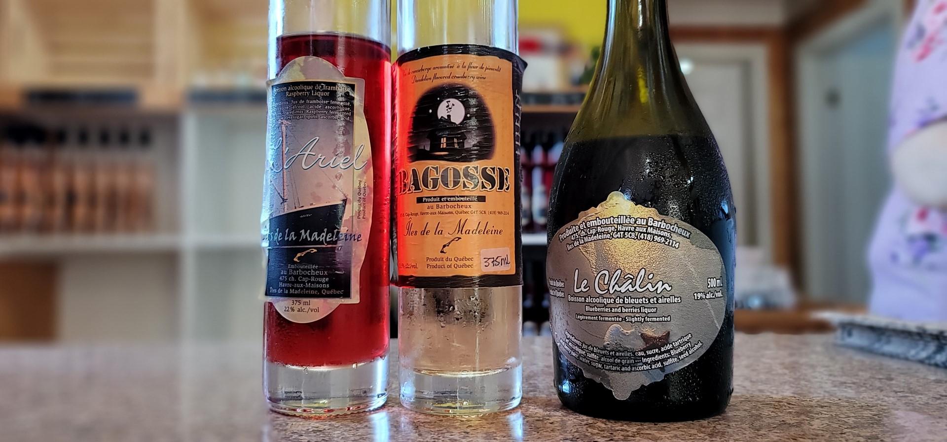 wines at Le Barbocheux