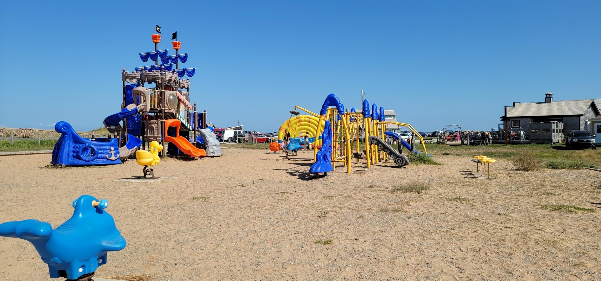 playground on L'anse-aux-Baleiniers