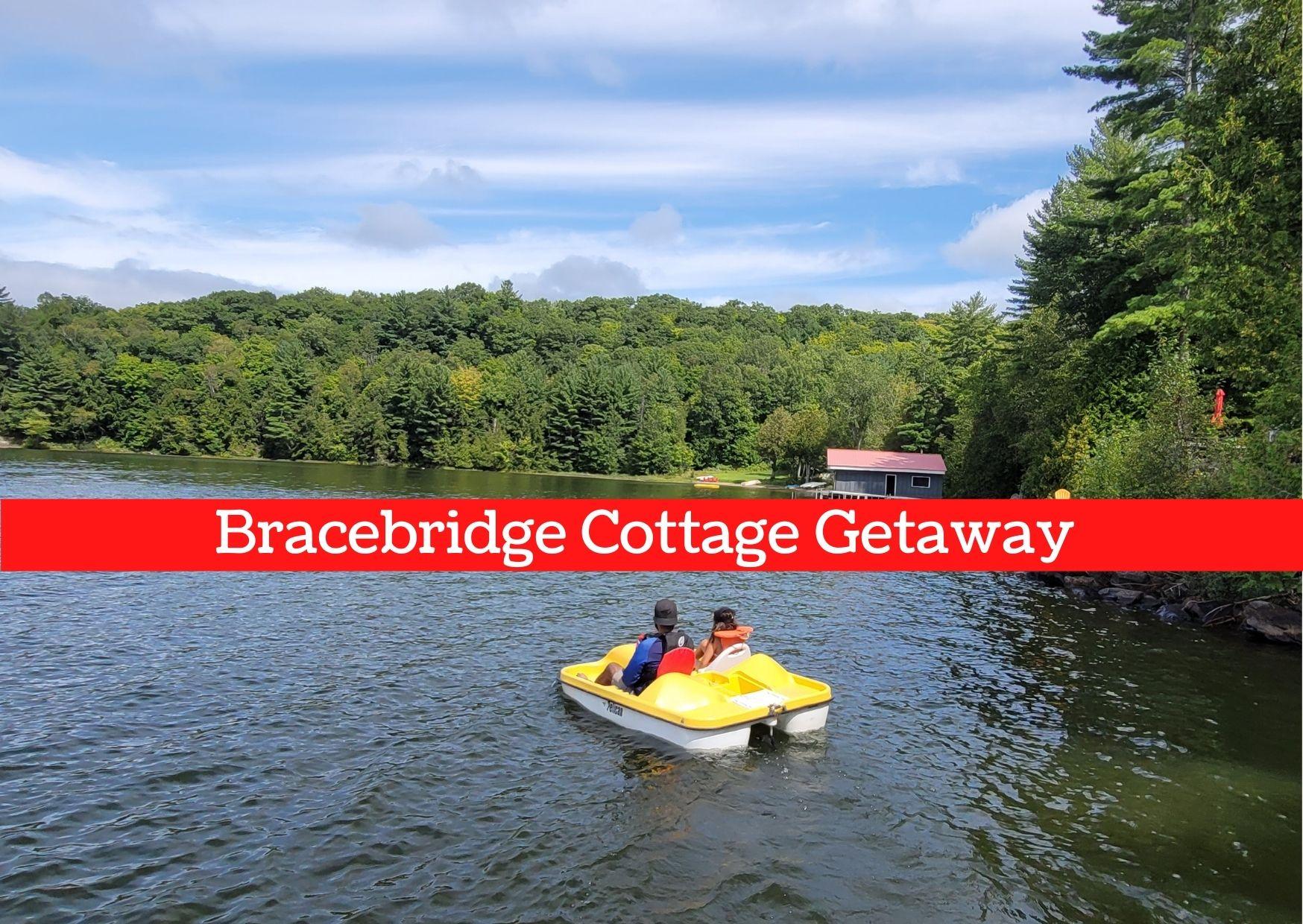 bracebridge cottage getaway